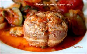 cuisiner les paupiettes de porc paupiettes de porc aux légumes du sud la serviette autour du cou
