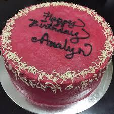 red velvet cake for analyn make it bliss