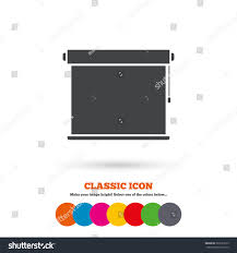 louvers rolls sign icon window blinds stock vector 303129515