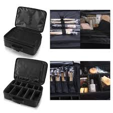 professional makeup artist organizer hotrose professhional large space makeup brush bag