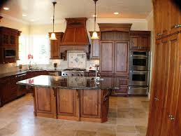 Closed Kitchen Kitchen Alluring Hanging Lamp Design Above White Counter Color
