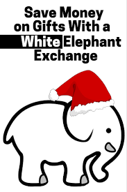 save money on gifts with a white elephant exchange the budget diet