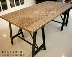 vieux bureau en bois rétro américaine à faire le vieux meubles anciens orme table à