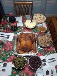 my and i prepared thanksgiving dinner for family