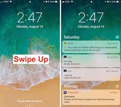 how to find notifications in ios 11 u0027s new lock screen and cover