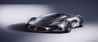 mercedes hybrid car designer s take on a mercedes hybrid supercar looks fittingly