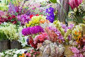 artificial flowers artificial flowers market stock photo colourbox