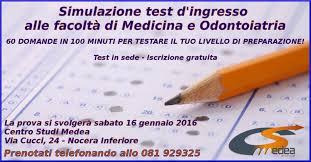 test d ingresso medicina simulazione test d ingresso per medicina e odontoiatria centro