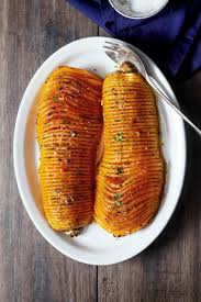 roasted butternut squash with garlic butter eatwell101