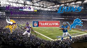 madden 17 gameplay vikings vs lions thanksgiving showdown