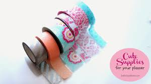 Washi Tape What Is It Belindaselene Cute Supplies For Your Planner