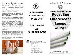 facilities management recycling at the university of pittsburgh