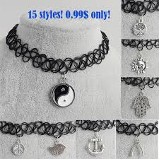 tattoo choker necklace all collections of necklace