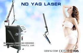 ptp q switch nd yag laser machine for tattoo removal pigment