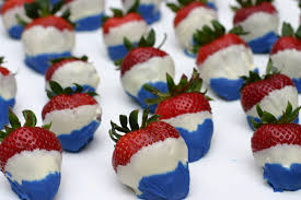 Easy Chocolate Covered Strawberries I 4th Of July Chocolate Covered Strawberries Red White And Blue By