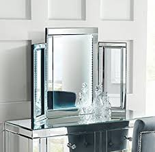 Mirrored Bedroom Furniture Uk by My Furniture Mirrored Bedroom Furniture Triple Led Folding