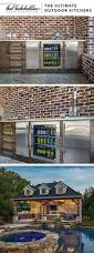 best 25 outdoor kitchens ideas on pinterest backyard kitchen at true we design products to fully suit your outdoor kitchen clear ice beer