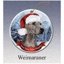 weimaraner silhouette waterproof die cut sticker weim dogs