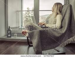 woman drinks coffee relax on vintage stock photo 527507128