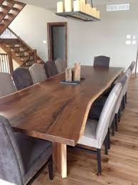 Live Edge Boardroom Table S2 Live Edge Dining Table Contemporary Dining Tables Deck Party