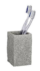 wenko bad accessoire set granit 2 teilig bestellen weltbild de