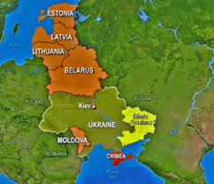 Map Eastern Europe Russia Is Redrawing Borders Of Eastern Europe Business Insider
