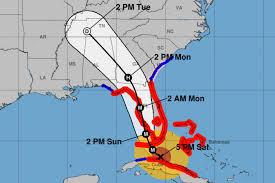 Cape Coral Florida Map Hurricane Irma U0027s Path Shifts To Florida U0027s Southwest Coast