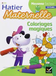 amazon fr coloriages magiques moyenne section florence