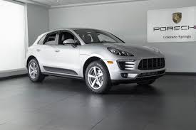 porsche macan white 2018 2018 porsche macan 4 cylinder for sale in colorado springs co