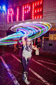 Glow Halloween Costume Katie Glow Hulahoop
