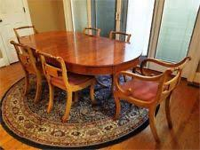 Yew Dining Table And Chairs Original Dining Table Antique Furniture Ebay