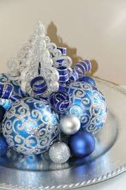 Christmas Table Decorations Blue And White by 37 Dazzling Blue And Silver Christmas Decorating Ideas Silver
