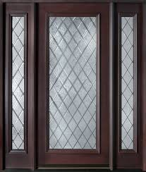 wood and glass exterior doors custom mahogany doors solid wood front doors dark mahogany and