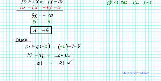 Solving One Step Equations Worksheets 2 1 Solving Multi Step Equations College Algebra 2practice