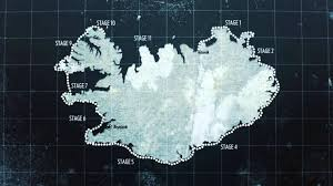 Iceland On Map Around Iceland On Inspiration Overview Map After Effects Youtube