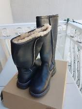 s ugg australia leather boots ugg australia womens water resistant leather boots