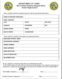Sample Resume Fill Up Form by Sample Medical Clearance Form Con Artists Using Fake Military