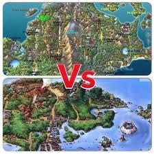 Sinnoh Map Sinnoh Vs Hoenn Pokémon Amino