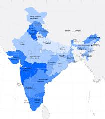 Map Of India With States by Map Data Experiments