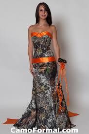 camo and orange wedding dresses weddingcafeny com