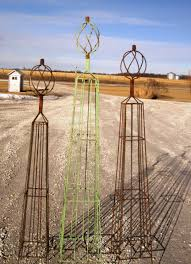 wrought iron sally topiaries metal trellis for vines