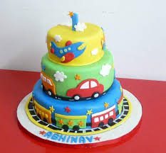 fondant birthday cake ideas for colorful fondant cake for