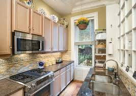 ideas for galley kitchens small galley kitchen remodel ideas charming modern office for