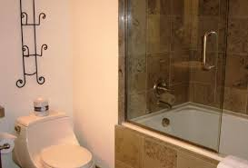 shower appealing small bathroom tub and shower combo 7 nice