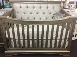 Convertable Crib by Royalton Custom Tufted Lifetime Convertible Crib Kids Furniture