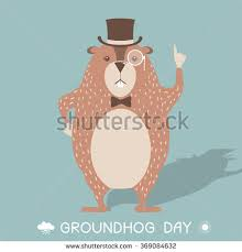 groundhog day cards groundhog day stock images royalty free images vectors