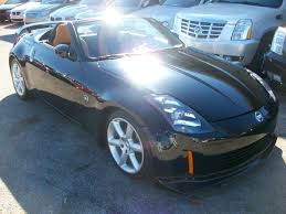 nissan convertible black 2005 nissan 350z roadster convertible autoshowcase
