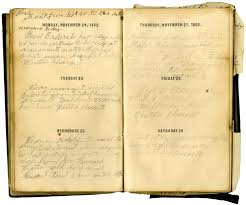 abraham lincoln thanksgiving proclamation text diary entry by matthew marvin u2013 november 24 1862 museum