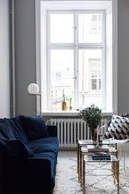 Live Room Set Living Room Navy Blue Velvet Sofa Living Room Set For Antique