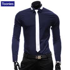 discount men slim shirt tie 2017 men slim shirt tie on sale at